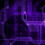 Abstrakcjonistyczny technologiczny tła składać się z bezlik o Obrazy Stock