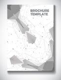 Abstrakcjonistyczny technologii broszurki szablon Zdjęcie Royalty Free