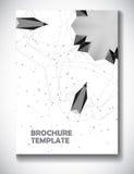Abstrakcjonistyczny technologii broszurki szablon Obraz Royalty Free