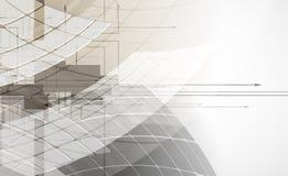 Abstrakcjonistyczny technologii tła biznes & rozwój Obrazy Royalty Free