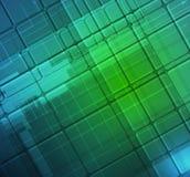 Abstrakcjonistyczny technologii tła biznes & rozwój Fotografia Stock