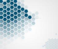 Abstrakcjonistyczny technologii tła biznes & rozwój royalty ilustracja