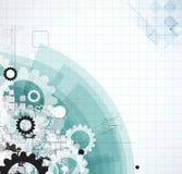 Abstrakcjonistyczny technologii tła biznes & rozwój Obraz Royalty Free