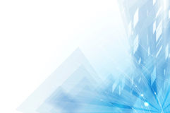 Abstrakcjonistyczny technologii tła biznes & rozwoju kierunek ilustracji
