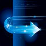 Abstrakcjonistyczny technologii tło Fotografia Stock