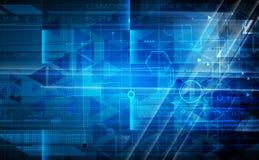 Abstrakcjonistyczny technologii tła biznes & rozwoju kierunek Obraz Royalty Free