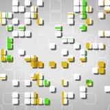 Abstrakcjonistyczny technologii tło Obrazy Stock