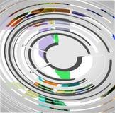 Abstrakcjonistyczny technologii tło Zdjęcie Stock