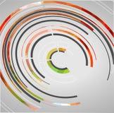Abstrakcjonistyczny technologii tło Obraz Royalty Free
