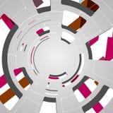 Abstrakcjonistyczny technologii tło Fotografia Royalty Free