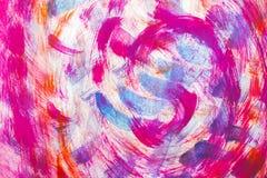 Abstrakcjonistyczny tekstylny kwiat menchii kolor Zdjęcie Royalty Free