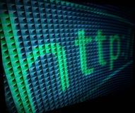 abstrakcjonistyczny teletechniczny pojęcie Zdjęcie Stock
