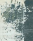 Abstrakcjonistyczny Textural Papierowy sztuka kolażu obraz Z Popielatymi brzmieniami fotografia royalty free