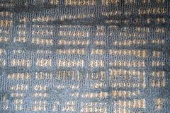 Abstrakcjonistyczny textured kwadrat wykłada i wzory w cieniach bławy, śmietanka i szarość, zdjęcia royalty free