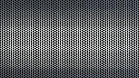 Abstrakcjonistyczny Textured wzór z Round Robi dziurę Przemysłowego tło Zniekształcającego ilustracja wektor