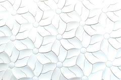 Abstrakcjonistyczny tkanina kwiat Zdjęcia Royalty Free