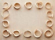 abstrakcjonistyczny tkaniny ramy papier abstrakcjonistyczny Fotografia Stock