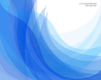 abstrakcjonistyczny tło błękit wektoru biel Obrazy Royalty Free