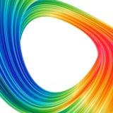 Abstrakcjonistyczny tło z barwionym okręgiem Zdjęcie Royalty Free