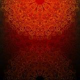 Abstrakcjonistyczny tło z fantazja wzorem Obrazy Stock