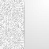 Abstrakcjonistyczny tło z tradycyjnym ornamentem Zdjęcia Royalty Free