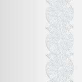 Abstrakcjonistyczny tło z tradycyjnym ornamentem Zdjęcia Stock
