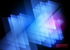Abstrakcjonistyczny trójboka tło Zdjęcia Stock