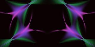 Abstrakcjonistyczny Tri Colour Zdjęcia Stock
