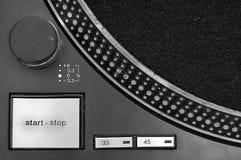abstrakcjonistyczny turntable Zdjęcia Stock