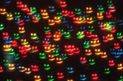 Abstrakcjonistyczny uśmiechu bokeh Fotografia Stock