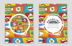 Abstrakcjonistyczny układu tła set Dla sztuka szablonu projekta, lista, strona tytułowa, mockup broszurki tematu styl, sztandar,  royalty ilustracja
