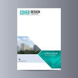 Abstrakcjonistyczny ulotka projekta tło broszurka szablon Fotografia Royalty Free