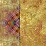 Abstrakcjonistyczny w kratkę podławy barwiony tło Fotografia Stock