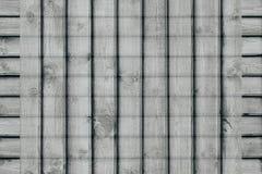 Abstrakcjonistyczny w kratkę tło drewniane deski Szkockiej kraty tło Abstrakcjonistyczny minimalistic wzór linie Obrazy Royalty Free