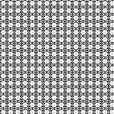 Abstrakcjonistyczny Wektorowy Bezszwowy geometryczny deseniowy Czarny i biały Zdjęcia Royalty Free