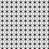 Abstrakcjonistyczny Wektorowy Bezszwowy geometryczny deseniowy Czarny i biały Zdjęcie Stock