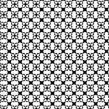 Abstrakcjonistyczny Wektorowy Bezszwowy geometryczny deseniowy Czarny i biały Obraz Stock