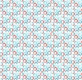 Abstrakcjonistyczny Wektorowy Bezszwowy wzór. Obrazy Royalty Free