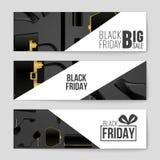 Abstrakcjonistyczny wektorowy Black Friday układu tło Dla kreatywnie sztuka projekta, lista, strona, mockup tematu styl, sztandar Obraz Stock