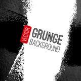 Abstrakcjonistyczny wektorowy grunge tło czarny white Obraz Royalty Free