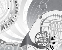 Abstrakcjonistyczny wektorowy kreskówka projekt. Serie wizerunek Obrazy Stock