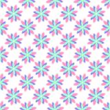 Abstrakcjonistyczny wektorowy kwiecisty bezszwowy wzór Obraz Stock