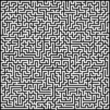 Abstrakcjonistyczny wektorowy labirynt wysoka złożoność ilustracja wektor