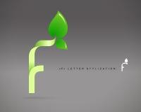 Abstrakcjonistyczny Wektorowy loga projekta szablon Zdjęcie Royalty Free