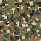 Abstrakcjonistyczny Wektorowy Militarny kamuflażu tło Zdjęcia Royalty Free