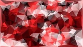 Abstrakcjonistyczny Wektorowy Militarny kamuflażu tło Robić Geometryczni trójboków kształty Poligonalny styl Obrazy Royalty Free