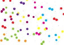 abstrakcjonistyczny wektorowy splatter koloru tło Ilustracyjny wektorowy projekt ilustracji