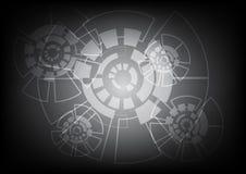 Abstrakcjonistyczny Wektorowy tło technologii pojęcie Obraz Royalty Free