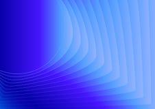 Abstrakcjonistyczny wektorowy tło z błękit mieszać liniami Od okręgu obciosywać Zdjęcie Royalty Free