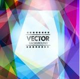Abstrakcjonistyczny Wektorowy tło Fotografia Stock